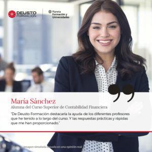 Deusto Formacion Opiniones - Curso Superior de Contabilidad Financiera