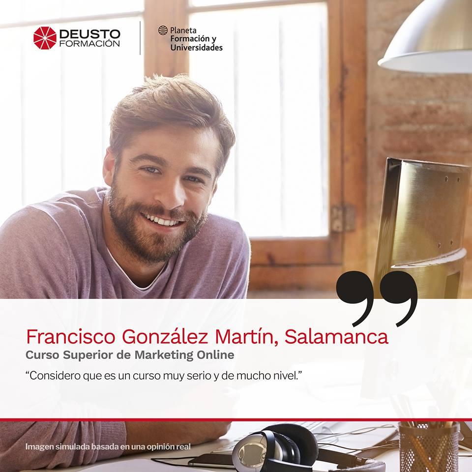 Opinión del Curso de marketing Online y Comercio ELectrónico