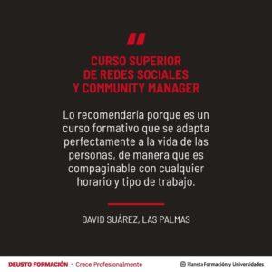 Opinión sobre el Curso Superior de Redes Sociales y Community Management