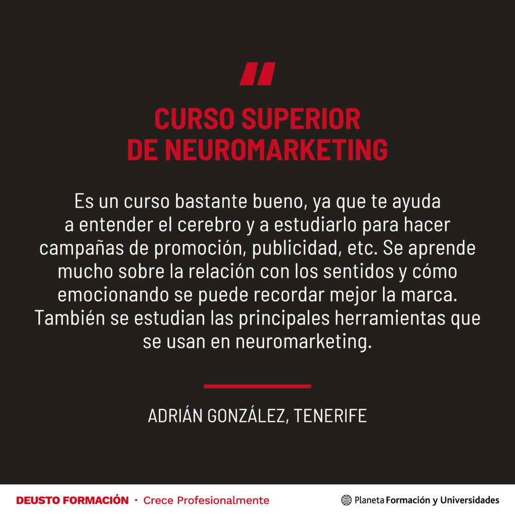 Curso Superior de Neuromarketing