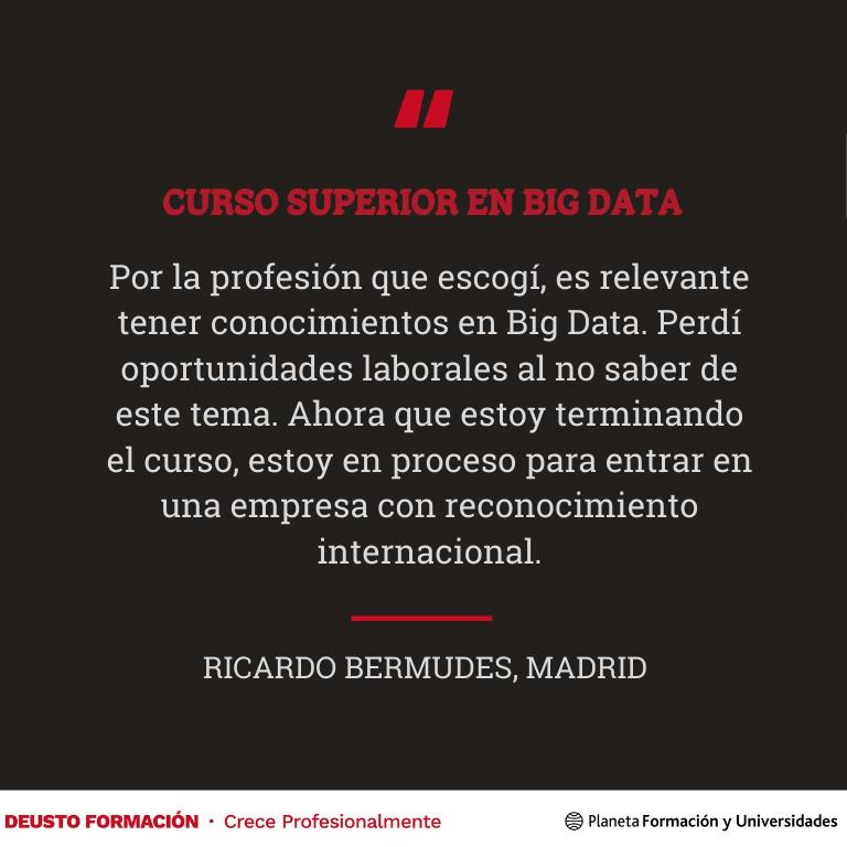 Curso Superior Big Data